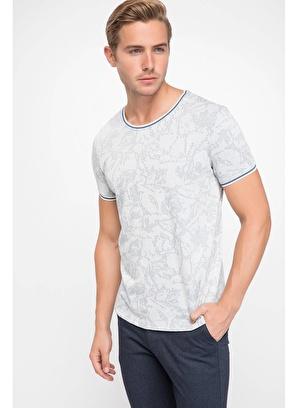 DeFacto Floral Desenli T-shirt